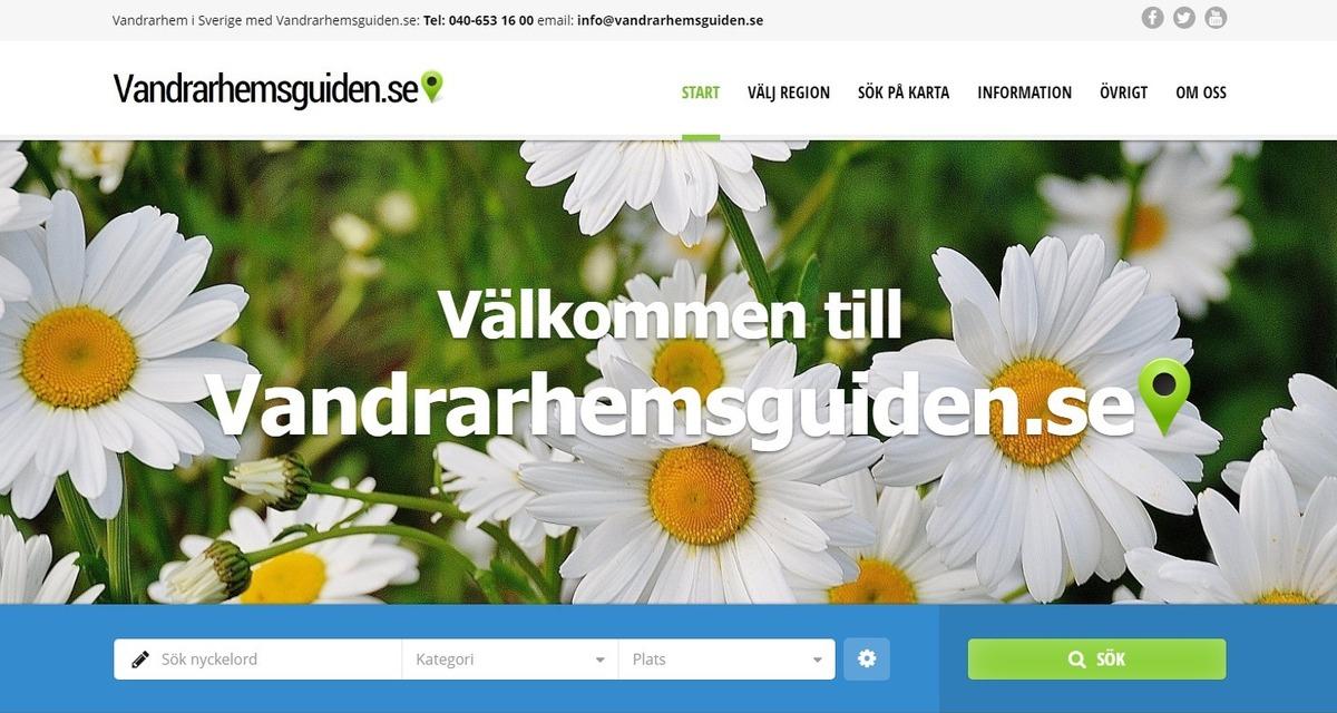 vandrarhem dalarna karta Ny guide för Vandrarhem i Sverige   Vandrarhemsguiden.se vandrarhem dalarna karta
